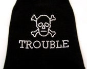 Trouble Tank Funny Shirts for Dogs