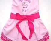 Dog Clothes Birthday Girl Dog Dress Sizes Small Med Large XLarge