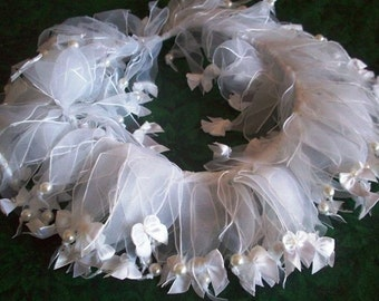 Decorative Dog Collar can be customed for the Holidays or Wedding