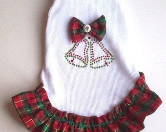 Christmas Dog Dress Holiday Dog Apparel