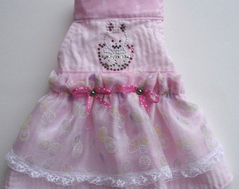 Pink Bunny Dog Dress