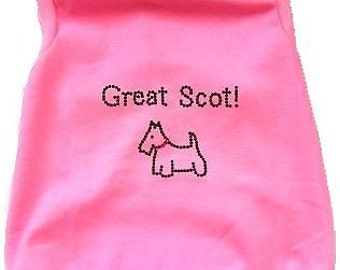 DogTank for the Scottie in Pink or Blue