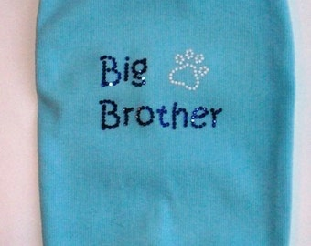 Big Brother Dog Tank Expectant Mother Gifts WS