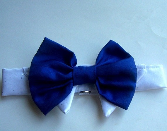 Dog Bow Tie Formal Wedding With D Ring