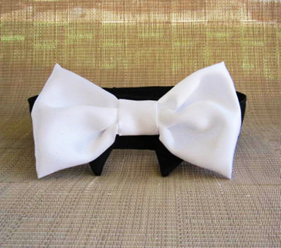 Collar and Bow Tie Wedding Dog or Cat Custom Made Miascloset