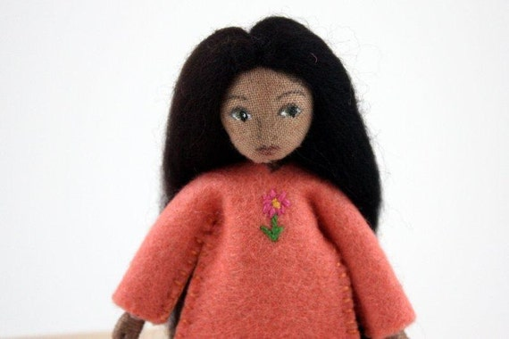 Little Felt Friend doll- Waldorf inspired