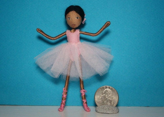 Felt Friend ballerina doll... waldorf inspired