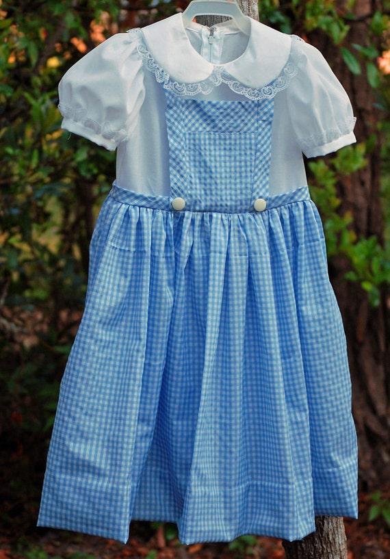 Girl, size 6/7, Dorothy costume.