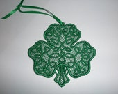FSL Shamrock Ornament