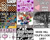 125x125 Custom Banner Ad for Your Shop