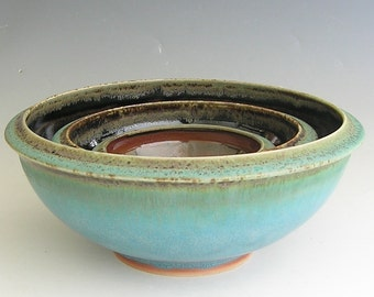 Made to Order...Nesting Set of 3 Mixing Bowls