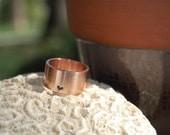 A Little Bit of Heart Rose Gold Ring