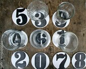 Numbers: Letterpress Coasters (10ct)