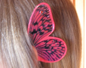 Christmas Red Butterfly Fairy Ear Wings