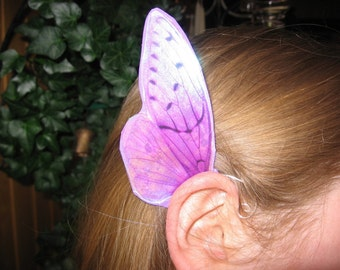 Pink/Lavender Cicada Fairy Ear Wings