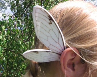 Fairy Angel White Cicada Ear Wings