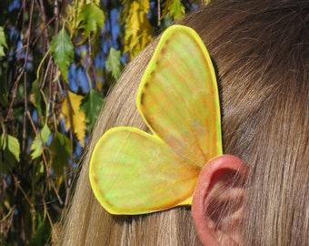 Golden Butterfly Ear Wings