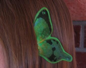 Large Butterfly - St. Patrick's Green Ear Wings
