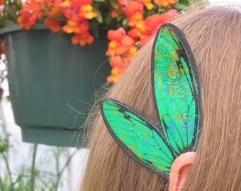 Men Boys Black & St. Patrick's Green Ear Wings