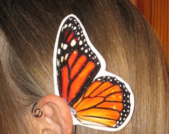 Monarch Butterfly Ear Wings