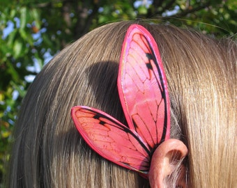Christmas Red Cicada Fairy Ear Wings