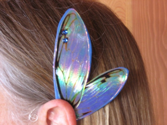 Fairy Ear Wings in Blue
