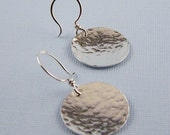 Reflections Sterling Simple Circle Earrings