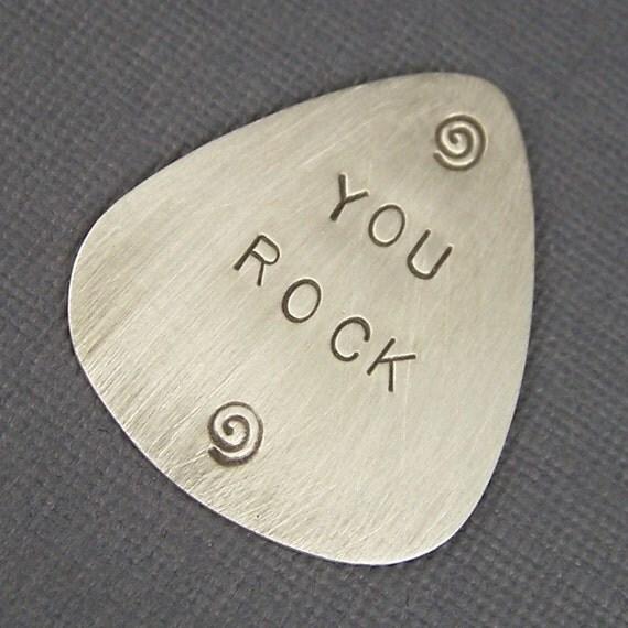 Sterling Silver Custom Guitar Pick