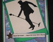 Elvis Fan Happy Birthday Card - Blank Inside