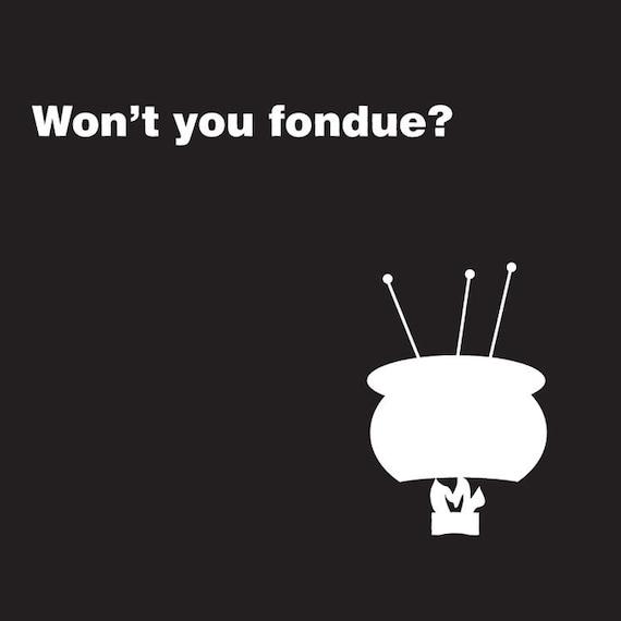 Fondue Party Invitations