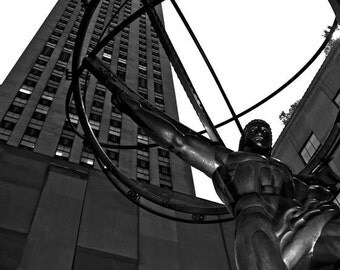 Atlas Statue at Rockefeller, Uptown Manhattan