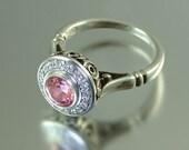 THE SECRET DELIGHT 14k gold Tourmaline engagement ring