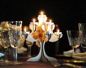 Hawaiian Romance - Wedding Centerpiece Candelabra