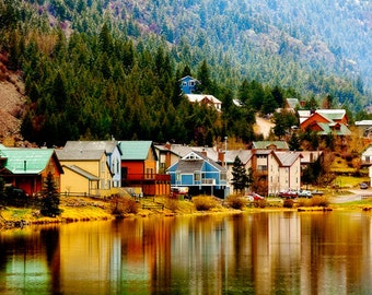 The Color of Georgetown - Colorado Landscape Photography - Mountain Lake - Snow - Reflections - Beautiful Travel Photos