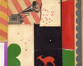 gramophone - original collage