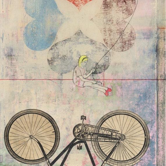 bike art print - limited edition - Navigator