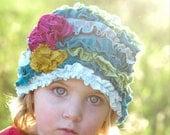 PDF Sewing Pattern the AZALEA CLOCHE Hat Girl's Sizes Newborn to Adult