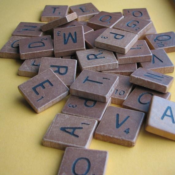 Scrabble Tiles - Lot of 20