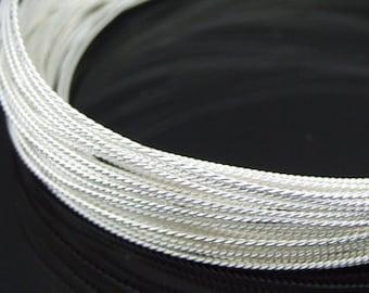 KX-016 thai karen hill tribe handmade silver 10ft. triple twist wire 22ga.