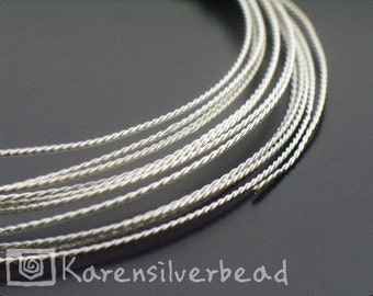 KX-016 Thai Karen Hill Tribe Handmade Silver 10ft. Tripple Twist Wire 29 ga. each