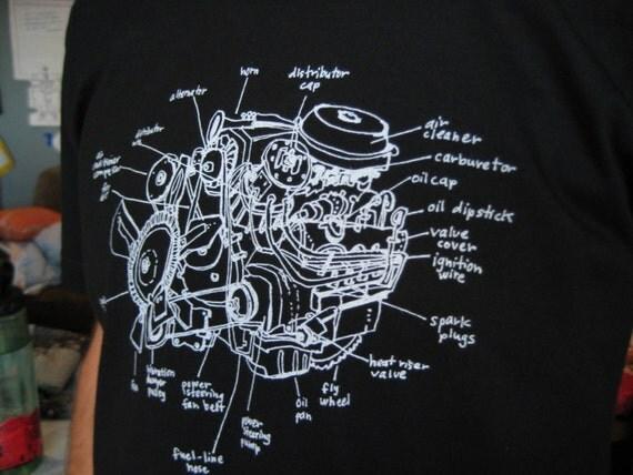 Auto engine diagram
