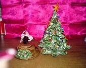 Mini Lighted Christmas Tree