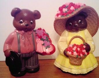 Mr. and Mrs. Valentine Bears