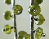 Forest Green Mobile Earrings