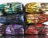 GREEN SPECTRUM SACK 8 ounces wool 8 variations on a color self striping art yarns