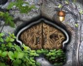 THE ENGRAVED DOOR  ACEO