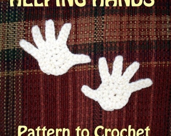 PATTERN - Helping Hands appliques