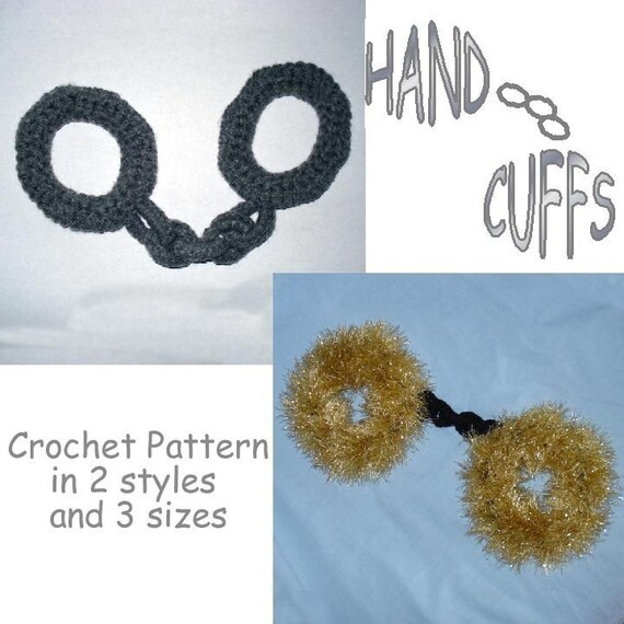 PATTERN - Soft Handcuffs for Dress-up Play
