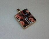 Beatles Scrabble Tile Pendant or Pin (5BEA) - Buy 3 Get 1 FREE