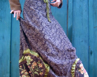 Victorian Ornate Skirt